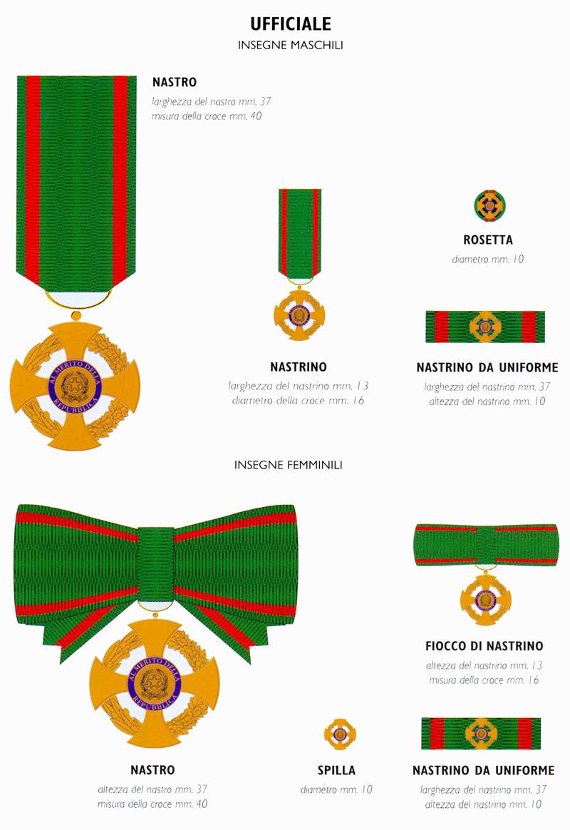Governo italiano ufficio onorificenze e araldica for Sito repubblica